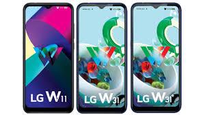 budget phones – LG W11, LG W31, W31+ ...
