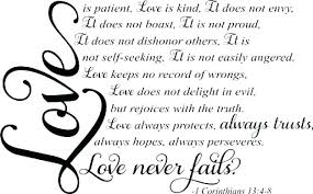 Love Is Patient Love Is Kind Quote Awesome Love Is Patient Quote As Well As Family Inspired Wall Decal Love Is
