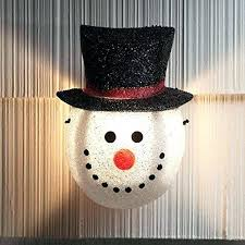 Outdoor Snowman Decorations Decoration Holiday Decor Gifts Frosty The Frost