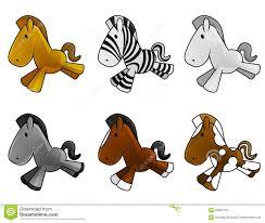 cute baby horses drawing.  Baby Set Of Cute Baby Horses Inside Cute Baby Horses Drawing U