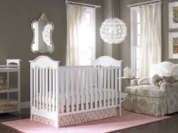 white fabric arm chair wall wooden carving nursery rugs target ivory painted crib table lamp round