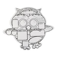 Color Your Own Owl About Me