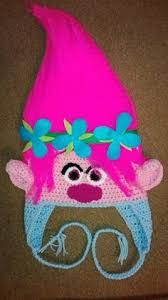 Trolls Crochet Hat Pattern Adorable Free Poppy Troll Hat Crochet Pattern Crochet Top It Off