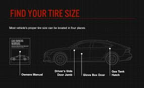 Chevy Truck Tire Size Chart How To Read Tire Size Bridgestone Tires