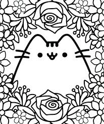 Originated in the online comic everyday cute, by claire belton and andrew duff, pusheen appeared on it's own website and many other comic. Pusheen Coloring Pages Free Printable Coloring Pages For Kids