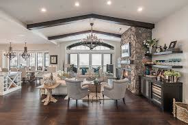Promontory-Mountain-Getaway-Habitations-Residential-Design-Group Vaulted  Ceiling Living
