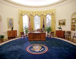 picture of oval office. president bill clinton oval office rug picture of