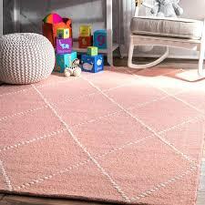 4x6 pink rug the gray barn big handmade wool trellis baby pink area rug 4x6 light
