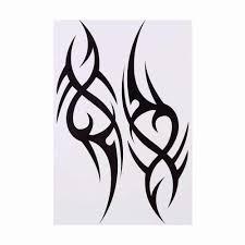 3d мужская половина рукава руки временные переводные татуировки с тотемами