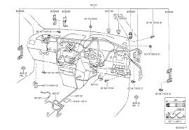 Array toyota picniccxm10l armdtw electrical wiring cl japan parts eu rh japan