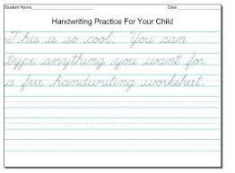Handwriting Exercises Irescue Club