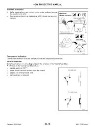 2003 infiniti g35 sedan service repair manual 2003 g35 wiring diagram num ber item description; 24