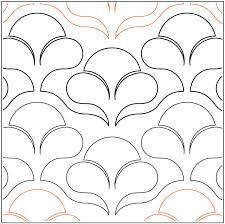 Nouveau Flowers quilting pantograph pattern by Lorien Quilting & Nouveau-Flowers-quilting-pantograph-pattern-Lorien-Quilting ... Adamdwight.com