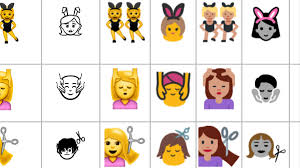 Samsung To Iphone Emoji Chart 2018 What The Emoji Youre Sending Actually Look Like To Your