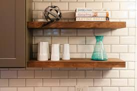 plain decoration floating rustic wood shelves trendy rustic wood floating shelves kitchen in w x in chunky
