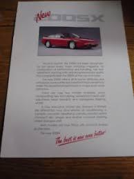 Details About Nissan 200sx Brochure Colour Chart