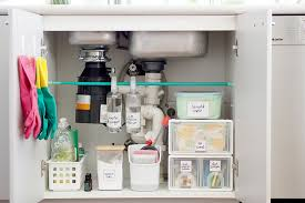 under kitchen sink cabinet. Previously, I Stored Them On The Other Side Of Kitchen. I\u0027ve Moved My Stash To Directly Under Sink Kitchen Cabinet