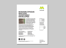 Envelopes | Mohawk Connects