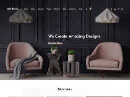 Good Home Design Websites 15 Best Interior Design Wordpress Themes 2020 Athemes