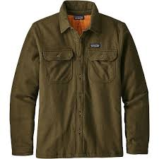 patagonia mens insulated fjord flannel jacket thumbnail