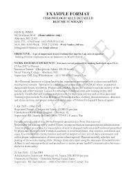 Resume Letter Example Letter Idea 2018 Resume For Study