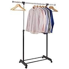 Portable And Expandable Garment Rack In Black Chrome 18 Months Mesmerizing Amazon ProAid Clothes Rack By Adjustable Garment Clothing Rack