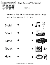 5 Senses Coloring Pages Plus The Five Senses Printable Worksheets ...