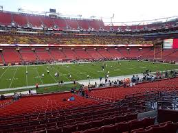 Fedex Field Landover Md Seating Chart Fedexfield View From Section 224 Vivid Seats