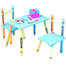 table chair for kid wooden child table and chairs 3 piece crayon kids table chairs set