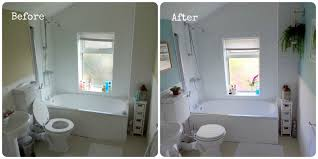 Duck Egg Blue Bathroom Accessories Bathroom Makeover Before After Make Do And Mend