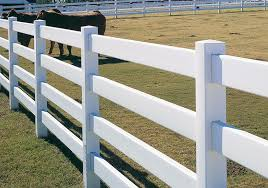white fence post. Bufftech Four Rail Vinyl Fence White Post S