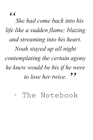 Famous Quote From The Notebook