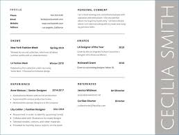 Resume Font Fascinating Best Fonts To Use For Resume Website Photo Gallery Examples Which Is