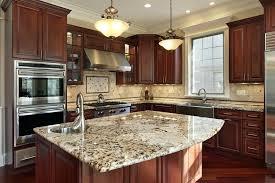 cherry cabinets with granite countertops white granite with cherry cabinets contemporary kitchen dark cherry kitchen cabinets