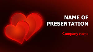 Heart Powerpoint Templates Download Free Valentines Hearts Powerpoint Theme For