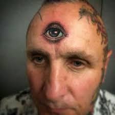 фото тату на лице