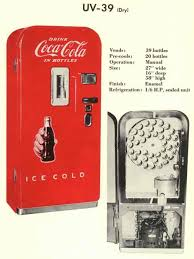 1950 Vendo 39 Coca Cola Vending Machine Fascinating CocaCola Vendo 48 Soda Machine
