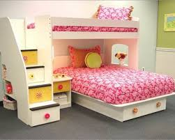 Bedroom Extraordinary Girls Bunk Beds With Stairs And Slide Kids