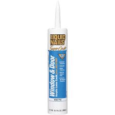 Best Window Caulk Liquid Nails Super Caulk Window Door Acrylic Latex Caulk Plus