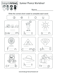 Our interactive online phonics resources will help significantly advance your child's reading and writing skills. Phonics Worksheets Kindergarten Mom Free Printable Sumnermuseumdc Org