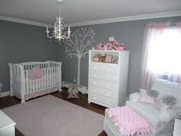 interior blue wicker bask black teddy bear pink wood girls kids bed green and brown nursery