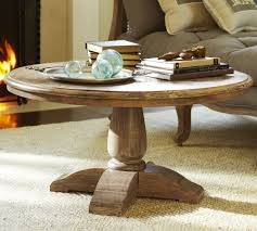 round glass top coffee table with wood base round coffee table