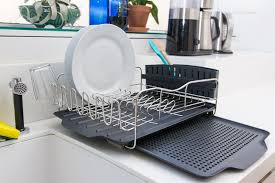 our top pick the polder 4 piece advantage dish rack system on a counter