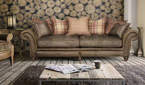 leather and cloth sofa stunning interior design