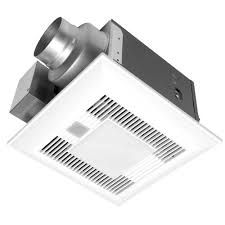 panasonic bathroom exhaust fan with light. Panasonic Deluxe 80 CFM Humidity And Motion Sensor Ceiling Bathroom Exhaust Fan, Energy Star With Light-FV-08VQCL6 - The Home Depot Fan Light