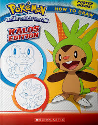 pokemon how to draw kalos edition ron zalme maria s barbo 9780545698900 amazon books