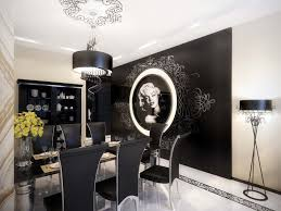 dining room decorating ideas for apartments. Fancy Small Dining Room Decorating Design Ideas : Magnificent Black Decoration With Marlyin For Apartments