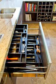 cookbook organization ideas with silverware drawer spaces contemporary and contemporary cutlery trays