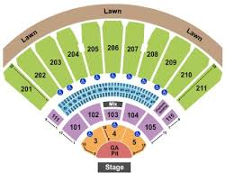 The Lawn At White River Seating Chart White River Amphitheatre Tickets And White River