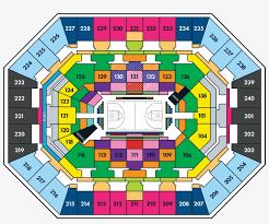 Timberwolves Seating Chart 2017 Timberwolves Seating Map Minnesota Timberwolves Ticket